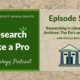 RLP 56 – Researching in Libraries and Archives: The Do's and Don'ts with Melissa Barker