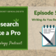 RLP 59 – Writing As You Research