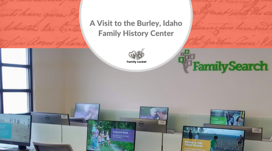 A Visit to the Burley, Idaho, Family History Center