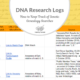 DNA Research Logs: How to Keep Track of Genetic Genealogy Searches