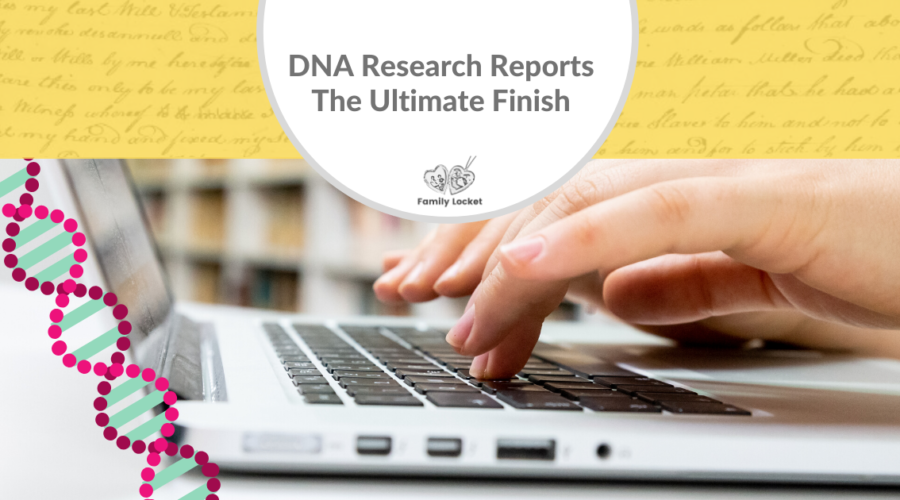 DNA Research Reports – the Ultimate Finish