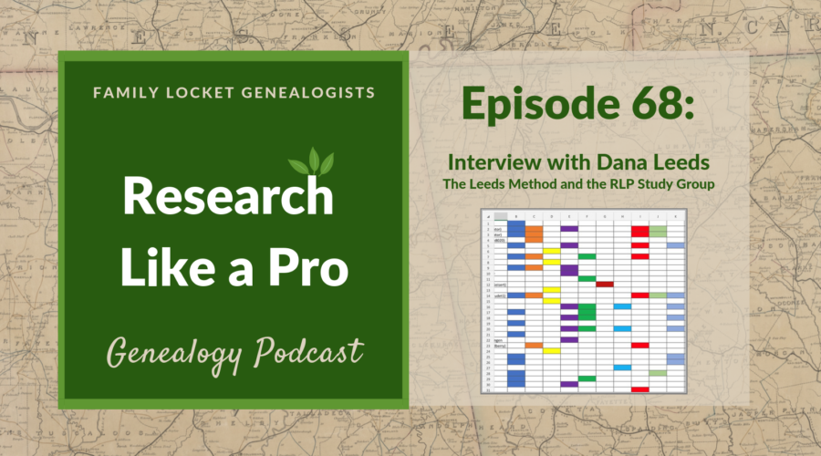 RLP 68 – Interview with Dana Leeds about the Leeds Method and the RLP Study Group