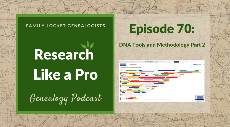 RLP 70 – DNA Tools and Methodology part 2: Chromosome browsers, segment triangulation, chromosome mapping, visual phasing