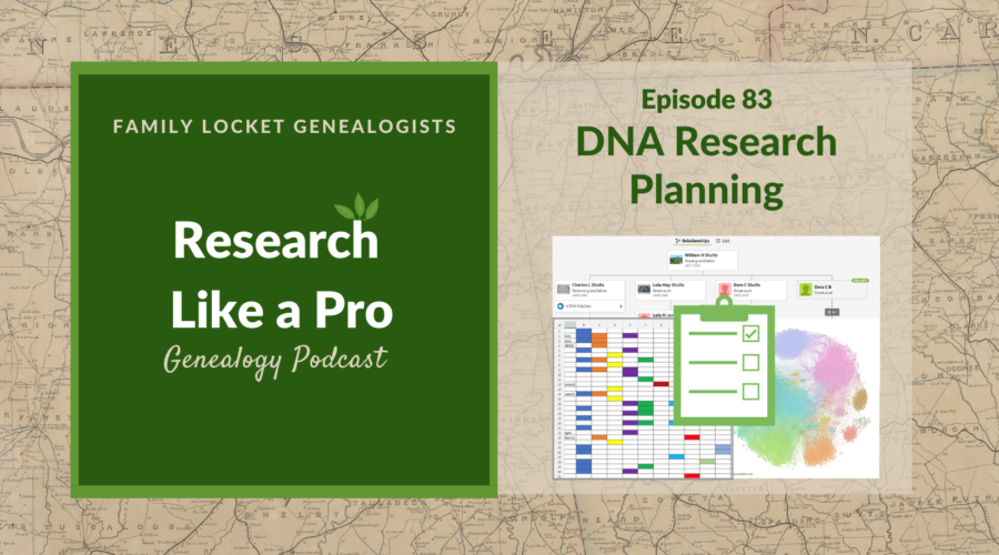 RLP 82: DNA Research Planning