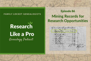 RLP 86: Mining Records for Research Opportunities – Certification Preparation