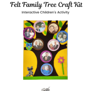 Felt Family Tree Kit #12 – Yellow