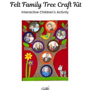 Felt Family Tree Kit #14 – Red