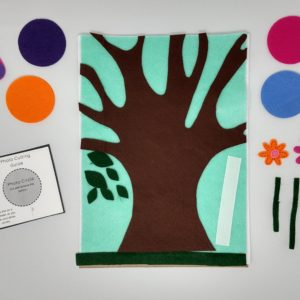 Felt Family Tree Kit #3 – Teal