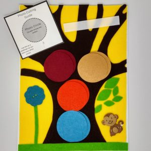Felt Family Tree Kit #7 – Yellow
