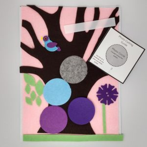 Felt Family Tree Kit #8 – Pink