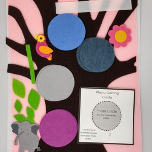 Felt Family Tree Kit #10 – Pink