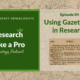RLP 87: Using Gazetteers in Research
