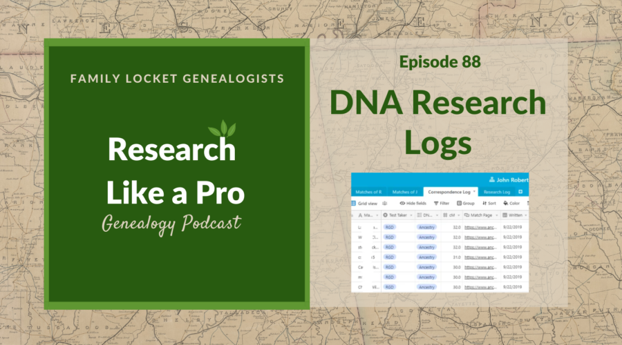 RLP 88: DNA Research Logs