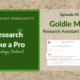 RLP 90: Goldie May – Research Assistant and Log
