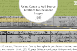 Using Canva to Add Source Citations to Document Images
