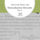 Back to the Basics with Naturalization Records: Part 1