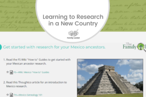 Learning to Research in a New Country