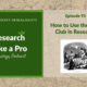 RLP 95: How to Use the FAN Club in Research