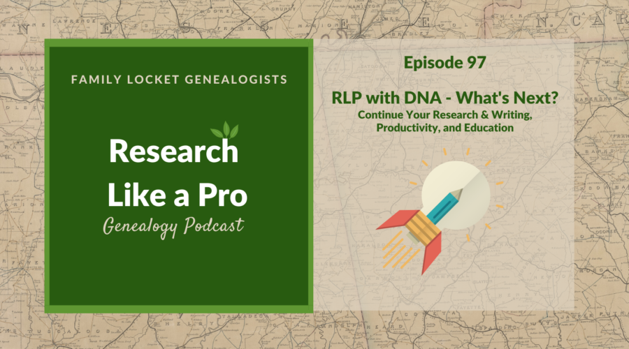 RLP #97 : RLP with DNA – What's Next?