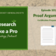 RLP #101: Proof Arguments – Certification Preparation