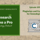 RLP 109: Copyright and Plagiarism