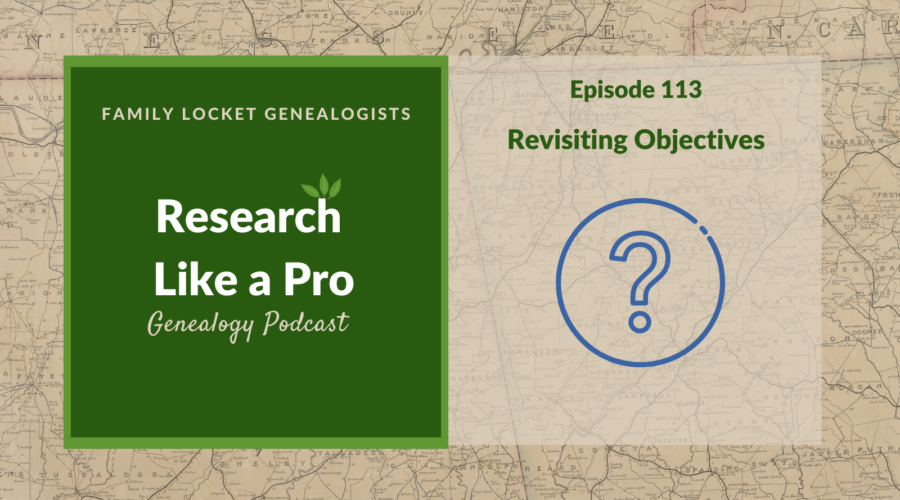 RLP 113: Revisiting Objectives