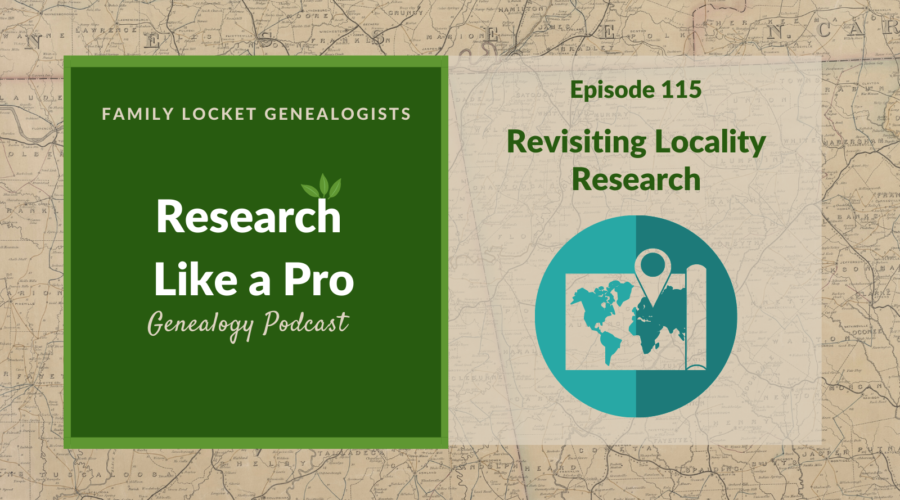 RLP 115: Revisiting Locality Research