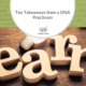 Ten Takeaways from a DNA Practicum