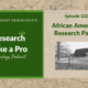 RLP 122: African American Research Part 2