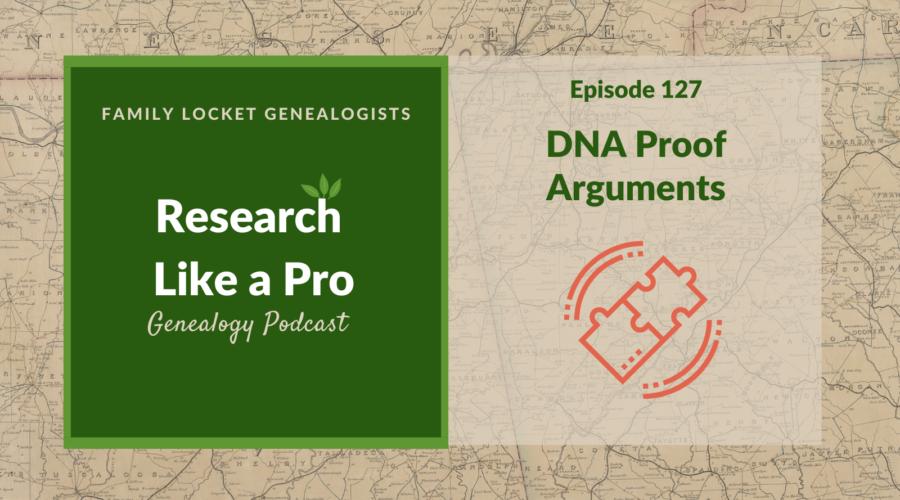 RLP 127: DNA Proof Arguments