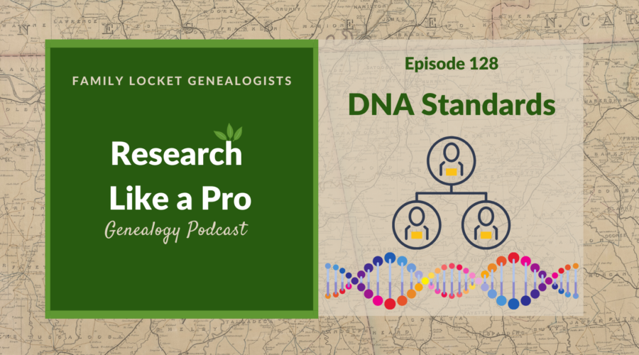 RLP 128: DNA Standards