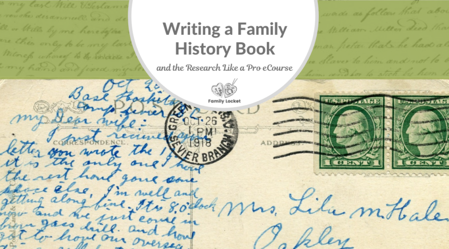 Writing A Family History Book and the RLP eCourse