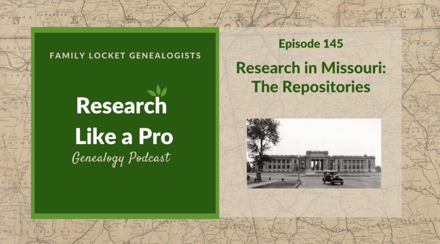 RLP 145: Missouri Repositories