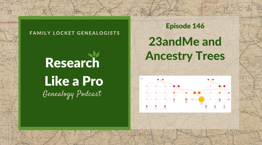 RLP 146: 23andMe and Ancestry Trees