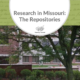 Research in Missouri: The Repositories
