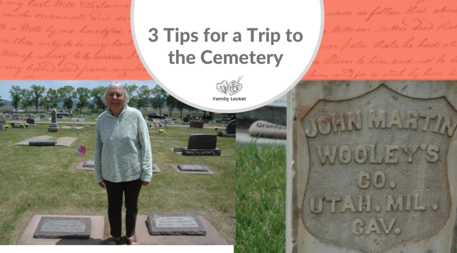 3 Tips for a Trip to the Cemetery