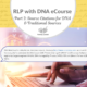 RLP DNA e-course Part 3: Source Citations for DNA and Traditional Sources
