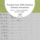 Part 3: Tracing Your 19th Century German Ancestors: Tips for Getting the Surname Right