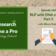 RLP 164: RLP with DNA eCourse Part 5